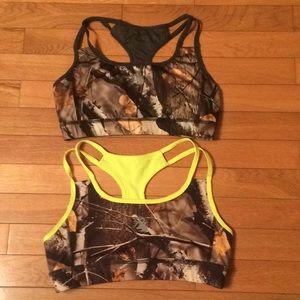 Reversible Sports bras